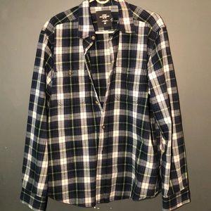 H&M construction flannel button down for Men 🌚